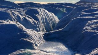 Petermann is one of Greenland's largest glaciers, lodged in a fjord that, from the height of its mountain walls down to the lowest point of the seafloor, is deeper than the Grand Canyon.