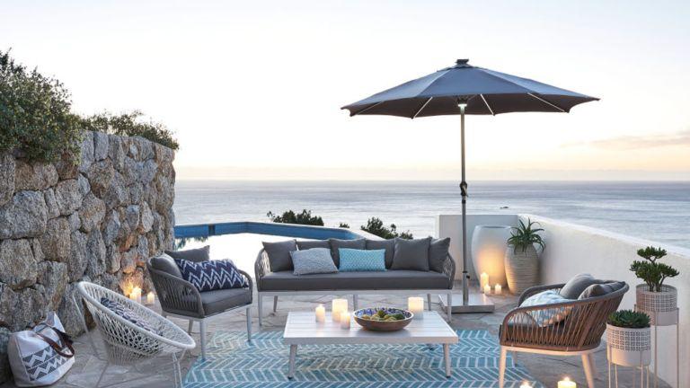 Best garden parasols 2021 - best parasol for garden - best patio umbrella - Real Homes