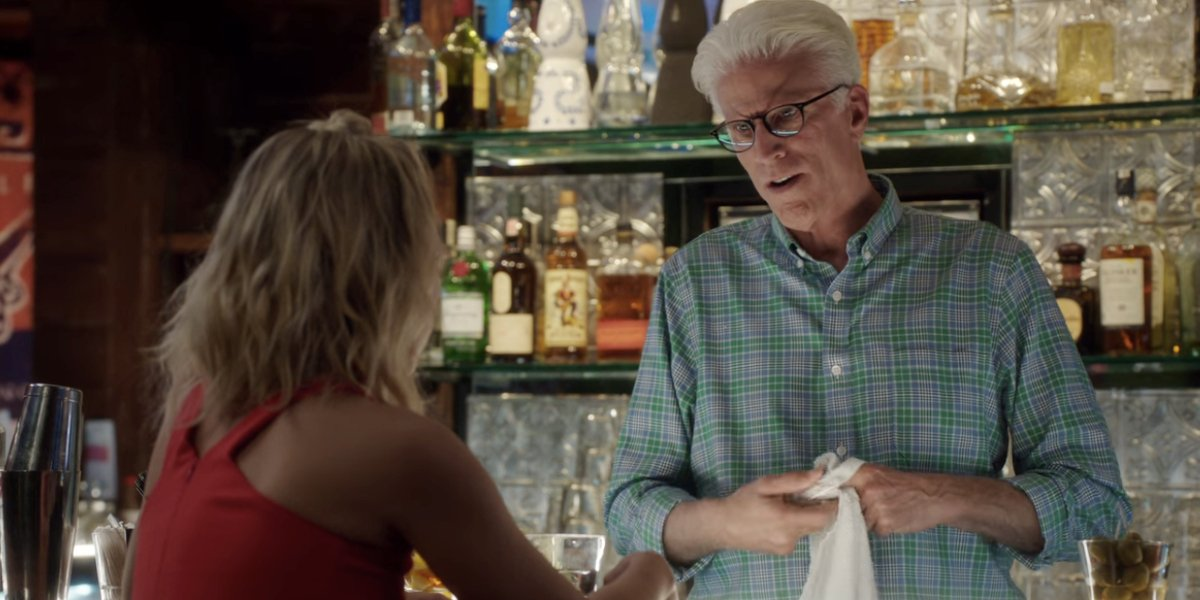 Ted Danson on The Good Place