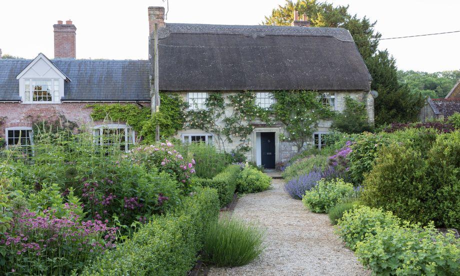 Country garden Wiltshire