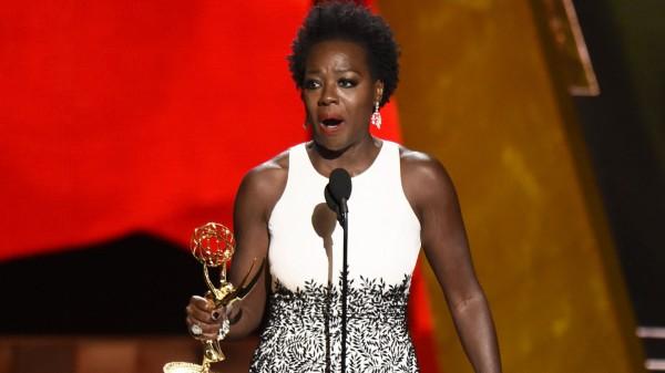 Viola Davis makes history on Emmy night