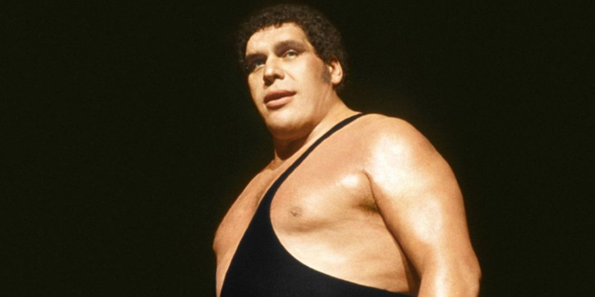 André René Roussimoff in Andre The Giant