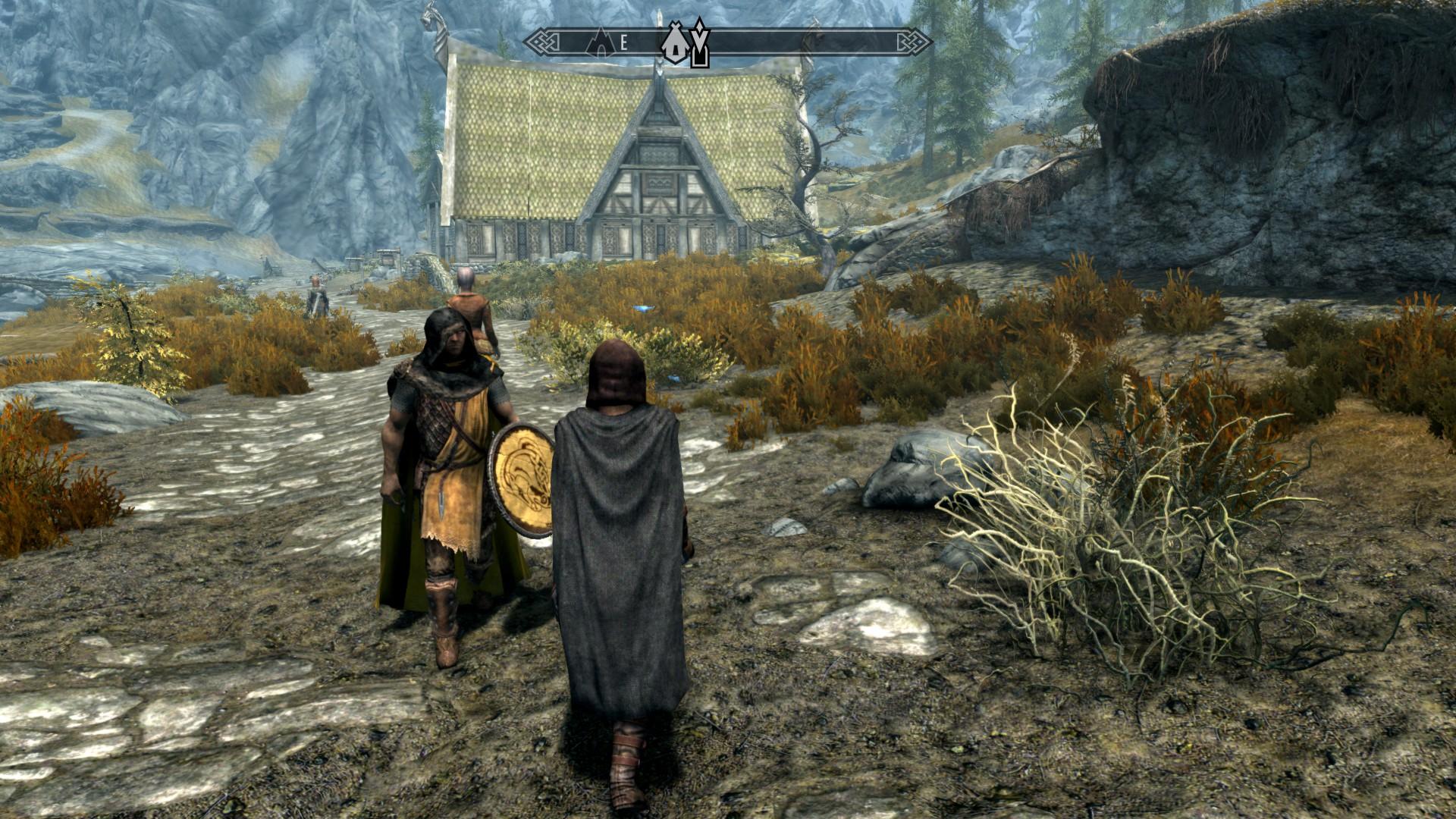 the best skyrim mods: cloaks of skyrim