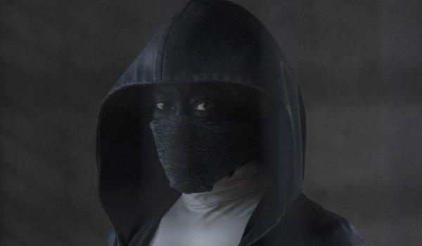 Watchmen Regina King dressed as a masked vigilante