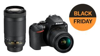 Nikon D3500 + 2 lenses for just $399.99! Dynamite DSLR discount!