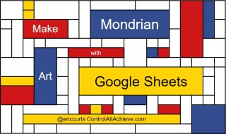 Make Mondrian Art with Google Sheets