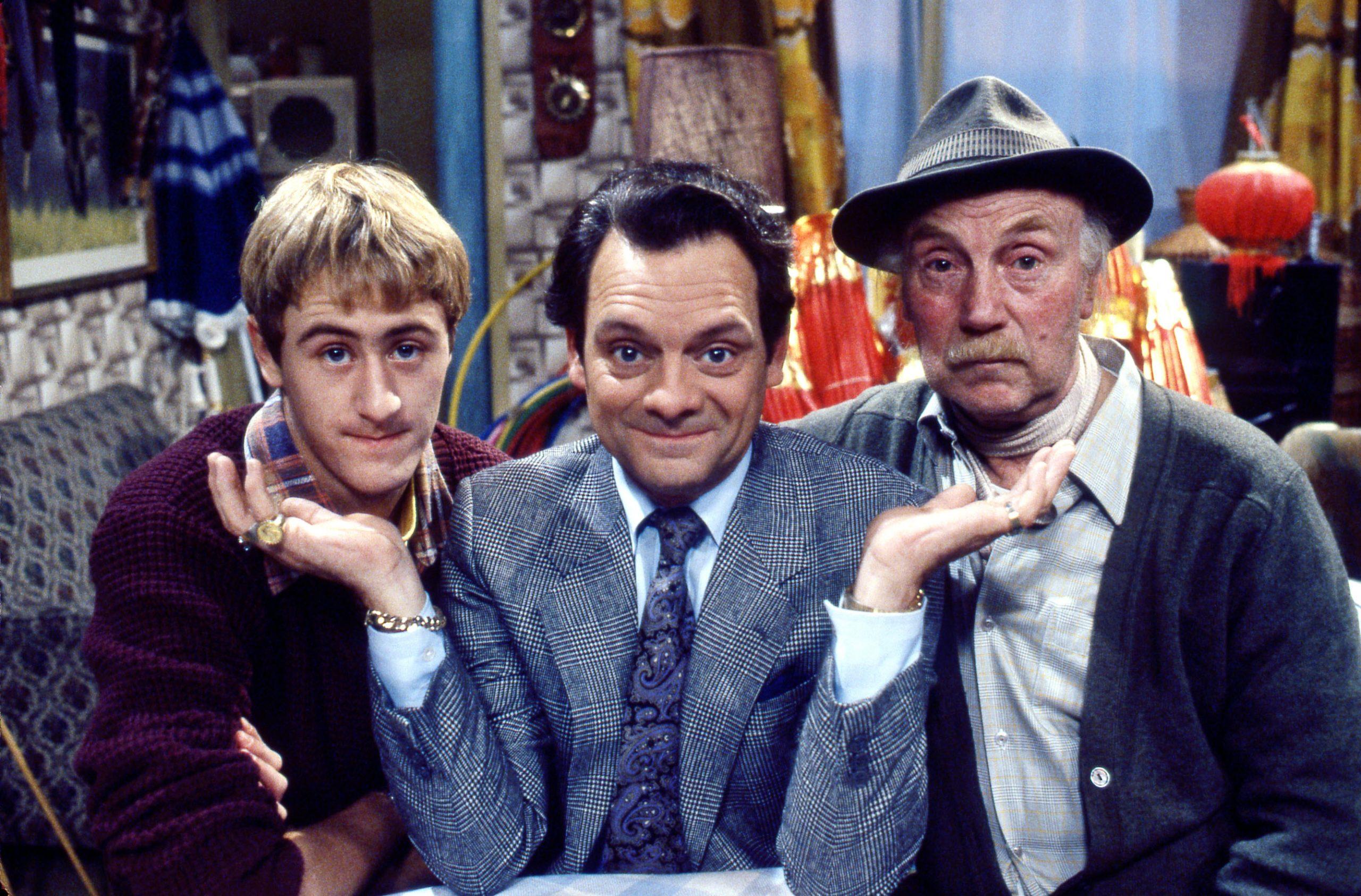 Rodney, vovô e Del em apenas tolos e cavalos