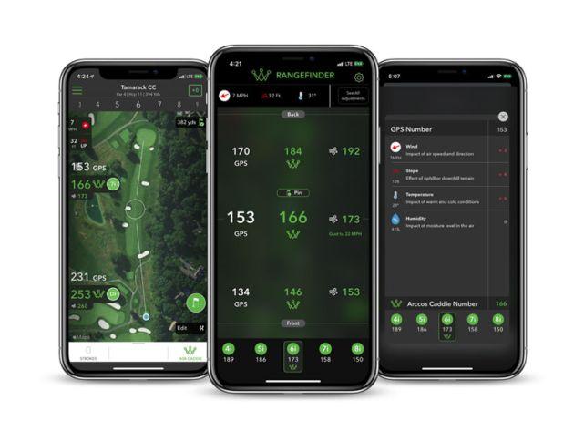 Arccos Golf Launch A.I. Powered Rangefinder