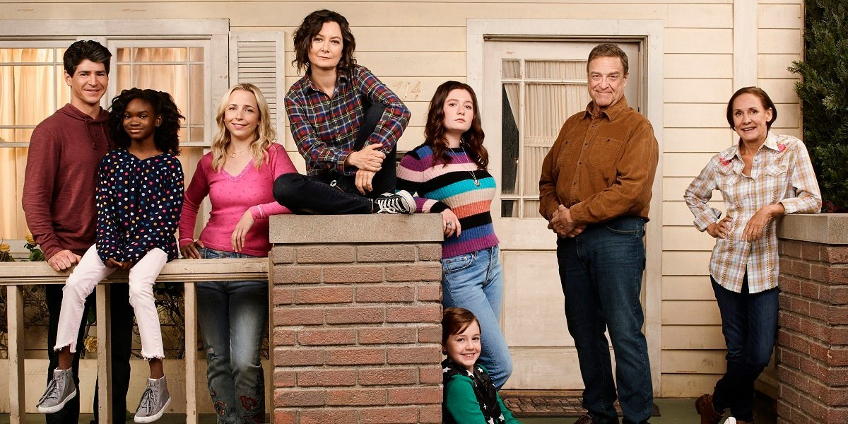 The Conners cast assembled in group photo