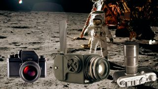 Hasselblad, Leica and Nikon cameras in space. Used by Astronauts.