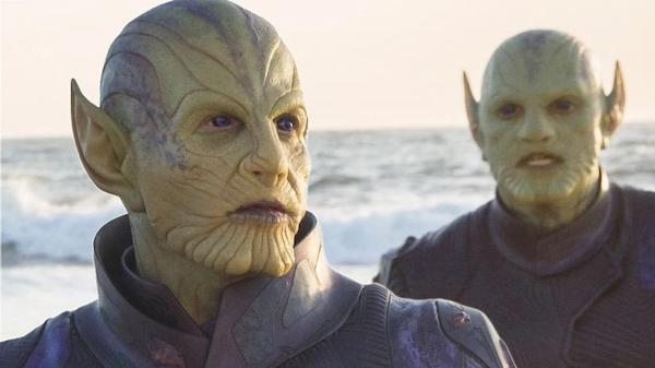 Skrulls from Captain Marvel