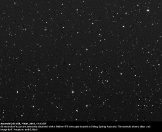 Asteroid 2013 ET Seen by Virtual Telescope