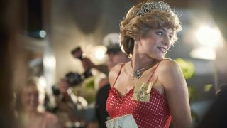 Emma Corrin in The Crown