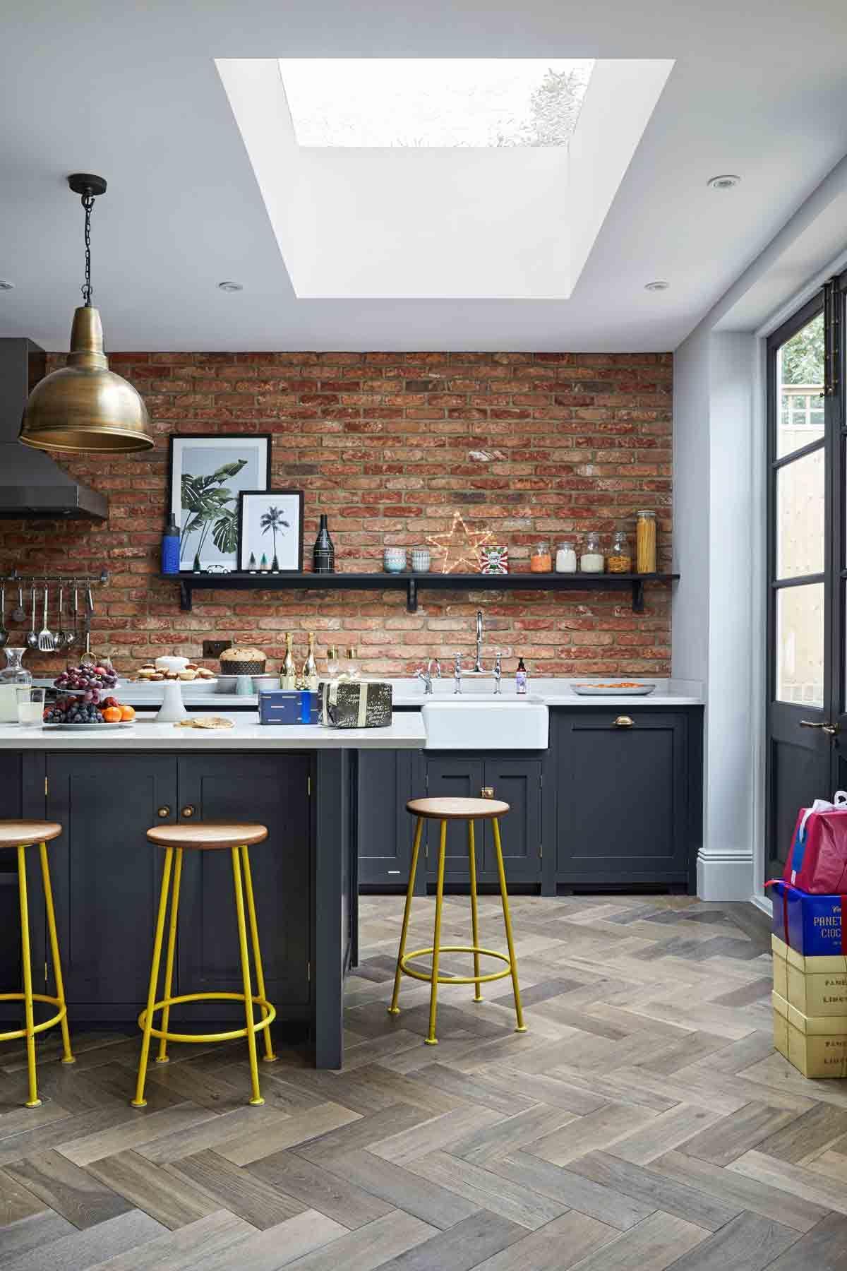 Blue Kitchen Ideas Powder Blue Navy Blue Dark Kitchen Inspiration Livingetc