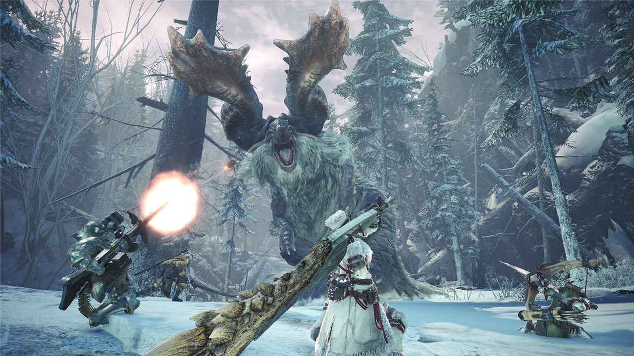 Capcom Outlines Its Plans For Monster Hunter World Iceborne