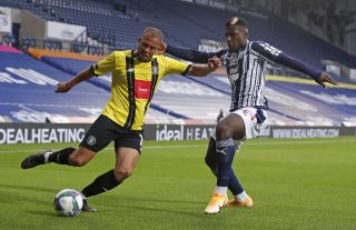 Cedric Kipre (right) is keen to keep impressing when he gets his chance for West Brom.