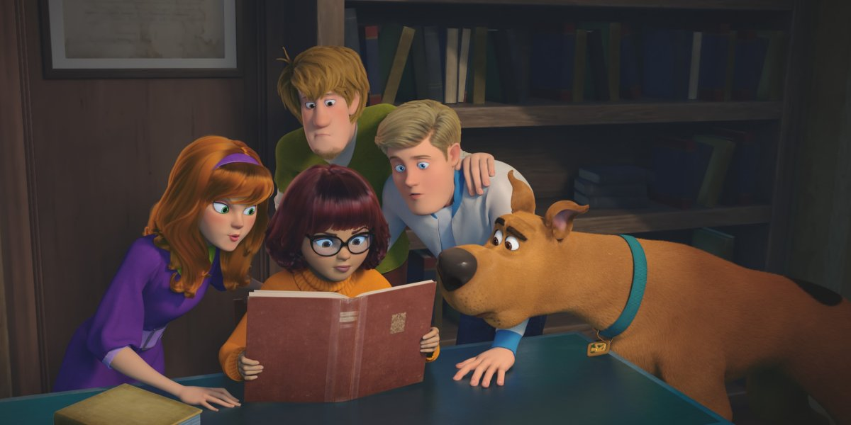 The cast of Scoob!