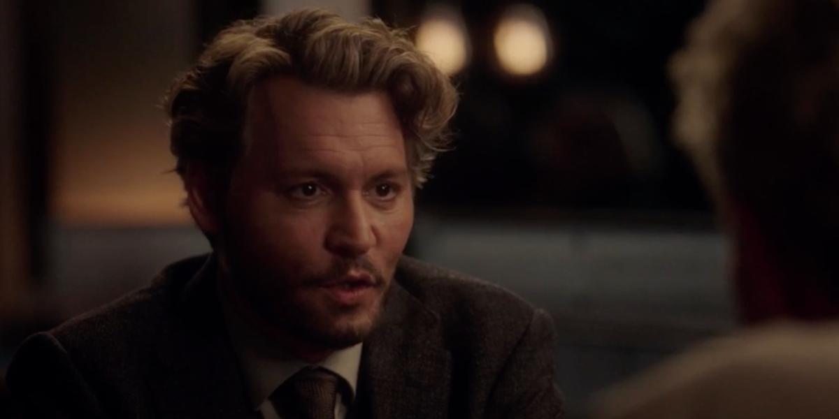 Depp in The Professor