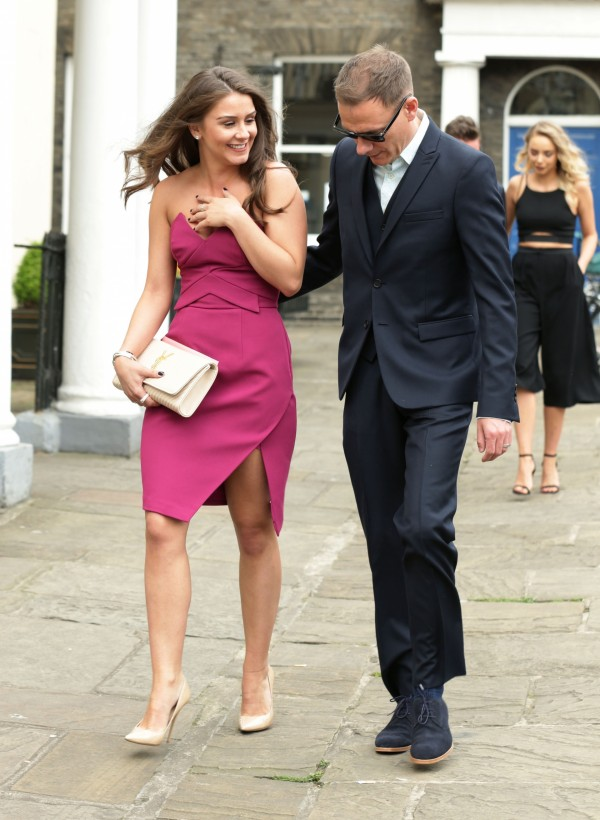 Brooke Vincent and Anthony Cotton