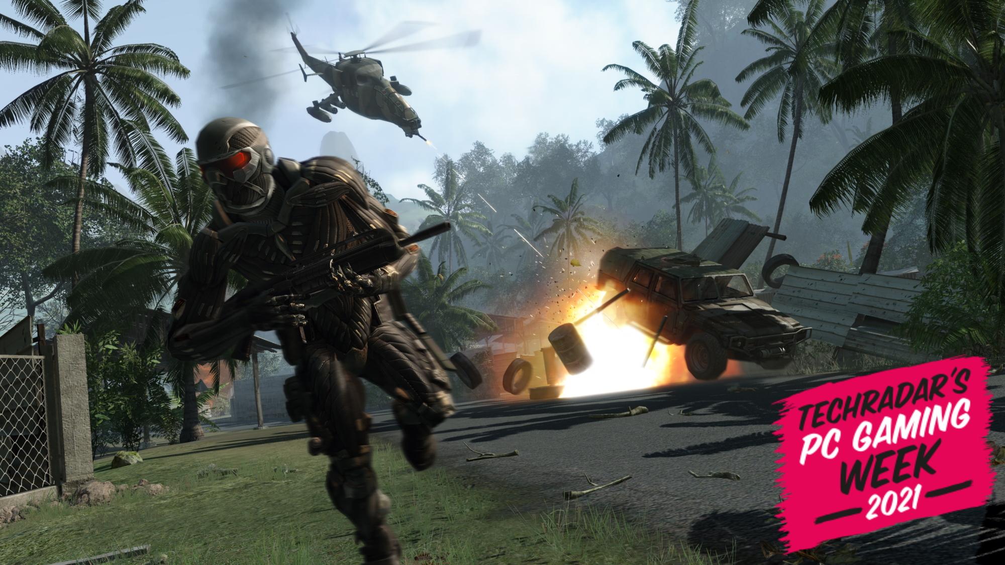 Screenshot of Crysis for TechRadar's PC Gaming Week 2021