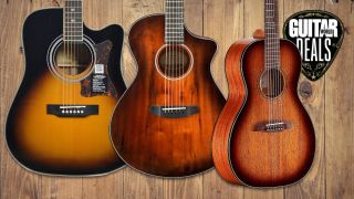 Get those campfire chord sheets ready - we've found three of the best Prime Day acoustic guitar deals