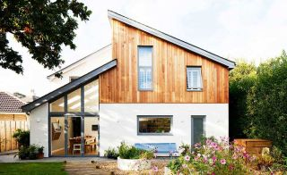 Angular self build eco home