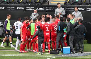 Swansea City v Birmingham City – Sky Bet Championship – Liberty Stadium