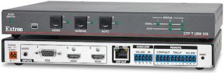 Extron Unveils New Versions of DTP Switchers with Audio Embedding, HDBaseT Compatibility