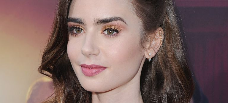 """Actress Lily Collins arrives at the Premiere Of Amazon Studios' """"The Last Tycoon"""" at the Harmony Gold Preview House"""