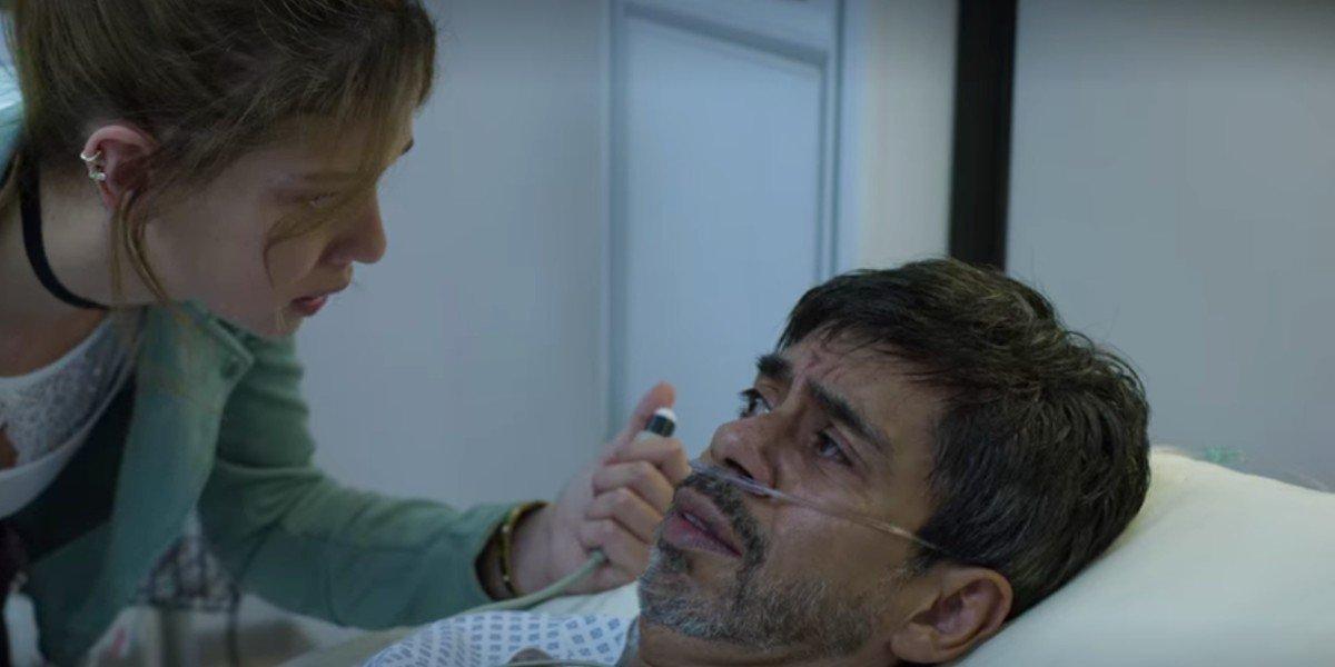 Héctor Jiménez and Carolina Miranda in Who Killed Sara