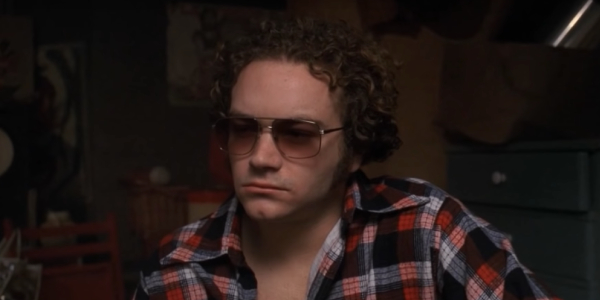 Danny Masterson as Steven Hyde, probably up to some kind of trouble