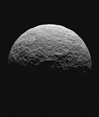 Dawn Images Ceres' Northern Terrain, April 2015