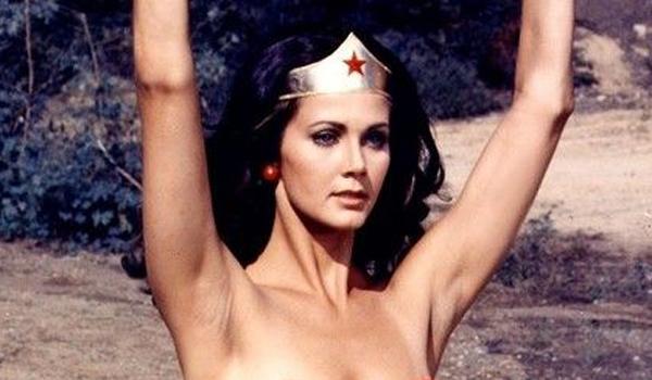 Lynda Carter no armpit hair as Wonder Woman