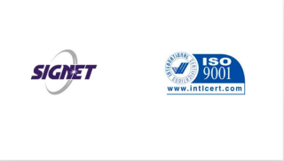 SIGNET Becomes ISO 9001:2015 Certified