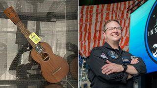 Martin ukulele and Chris Sembroski