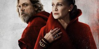 Luke and Leia in the poster