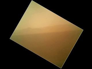 First color photo taken by Mars rover Curiosity