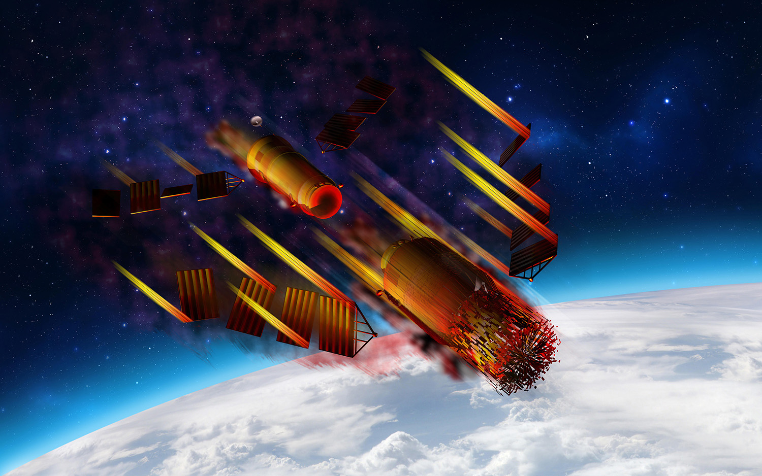 Farewell, Tiangong 1: Chinese Space Station Meets Fiery Doom Over