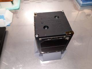 The Binar-1 satellite is a 10-cm cube.