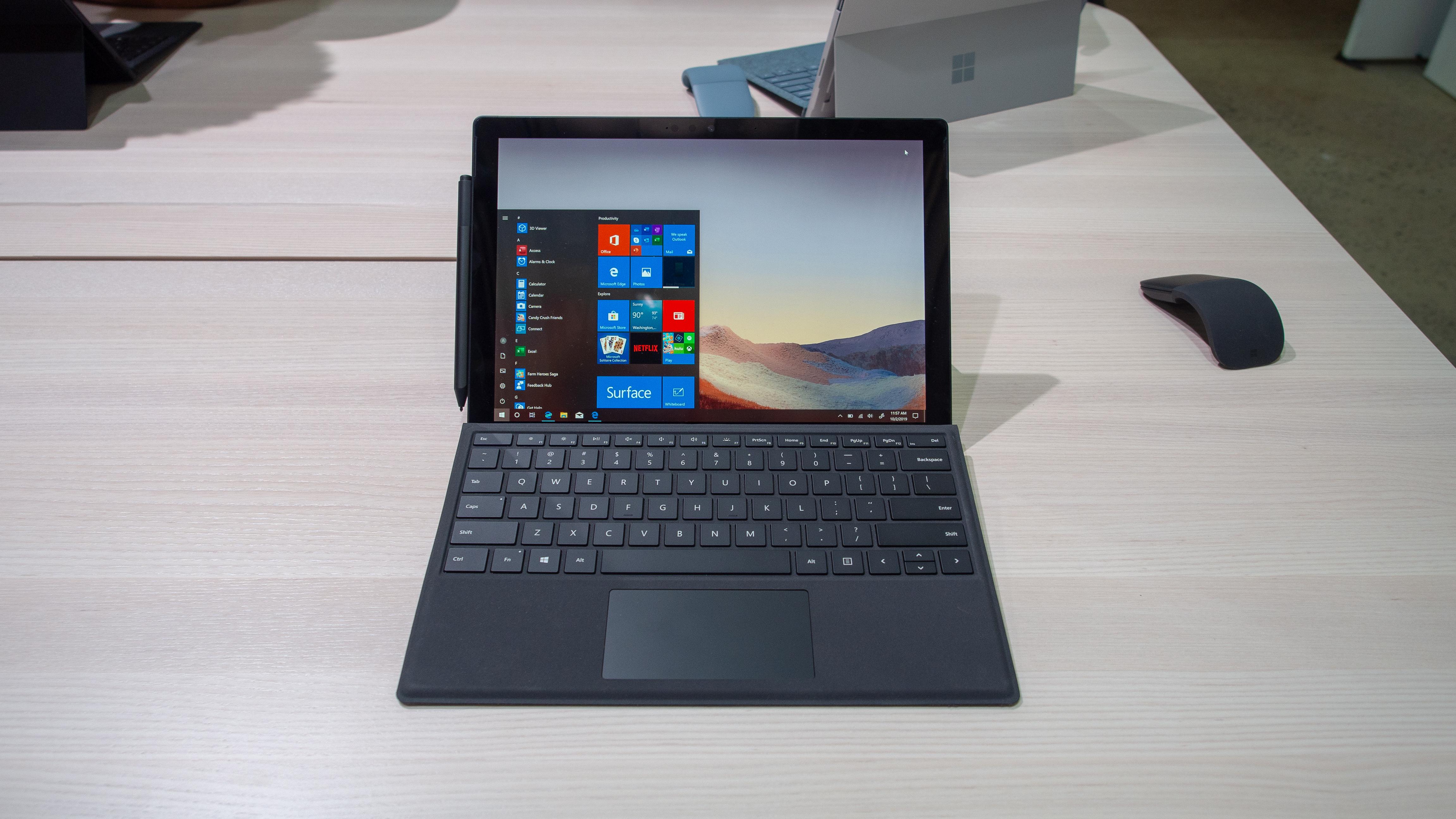 Surface Pro 7 Plus Keyboard Is 260 Off In Best Buy S Pre Black Friday Deal Techradar
