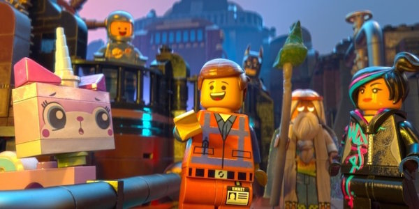 The Lego Movie< Emmet Wyld Style Uni-kitty