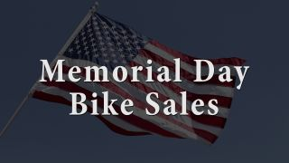 Memorial Day bike sales
