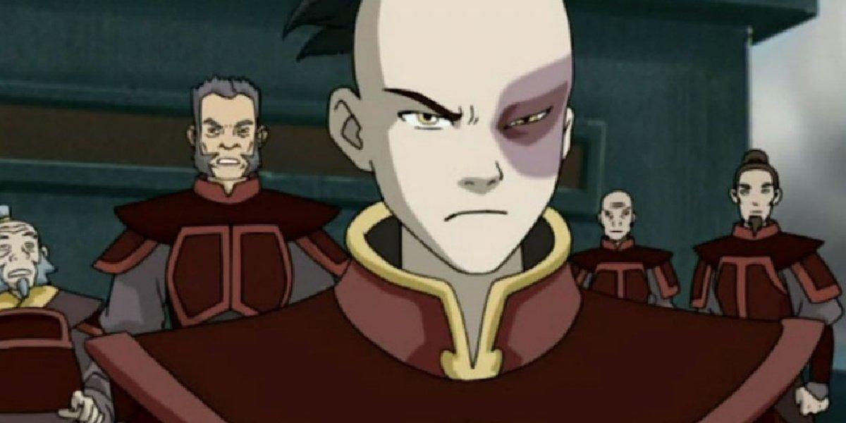 Zuko in Avatar: The Last Airbender.