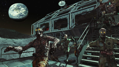 Zombies Invade The Moon In Call Of Duty: Black Ops Rezurrection Pack #18530