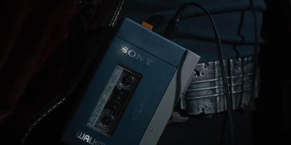 Star-Lord's walkman and mixtape from Guardians of the Galaxy