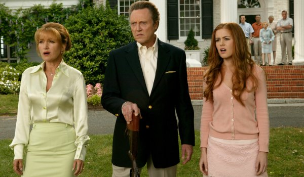 Wedding Crashers Jane Seymour Christopher Walken and Isla Fisher look on in disgust