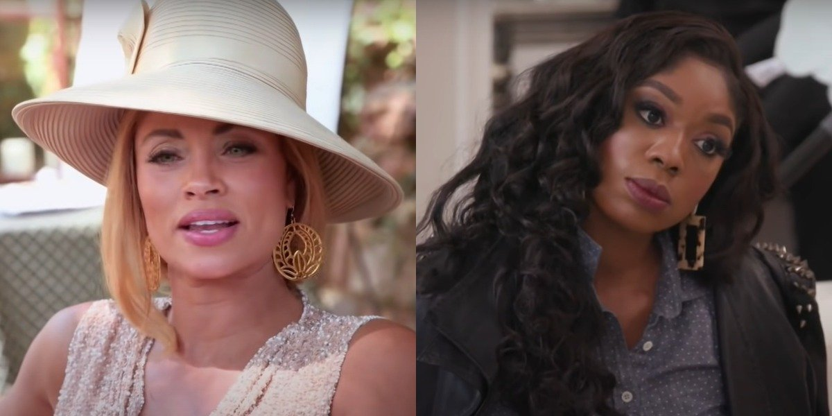 Real Housewives Of Potomac's Gizelle Bryant Responds After Being Called Out By Wendy Osefo For Those 'Eddie Rumors'