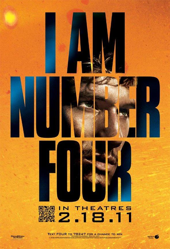 new i am number four posters embrace blue orange contrast cinemablend