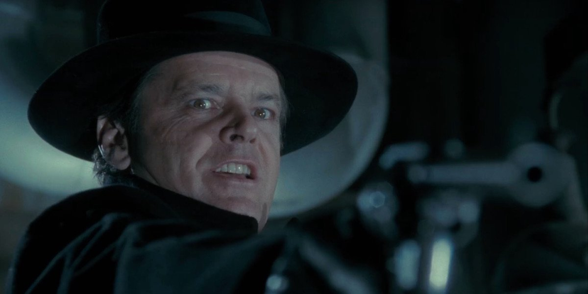 Jack Nicholson as Jack Napier in Batman