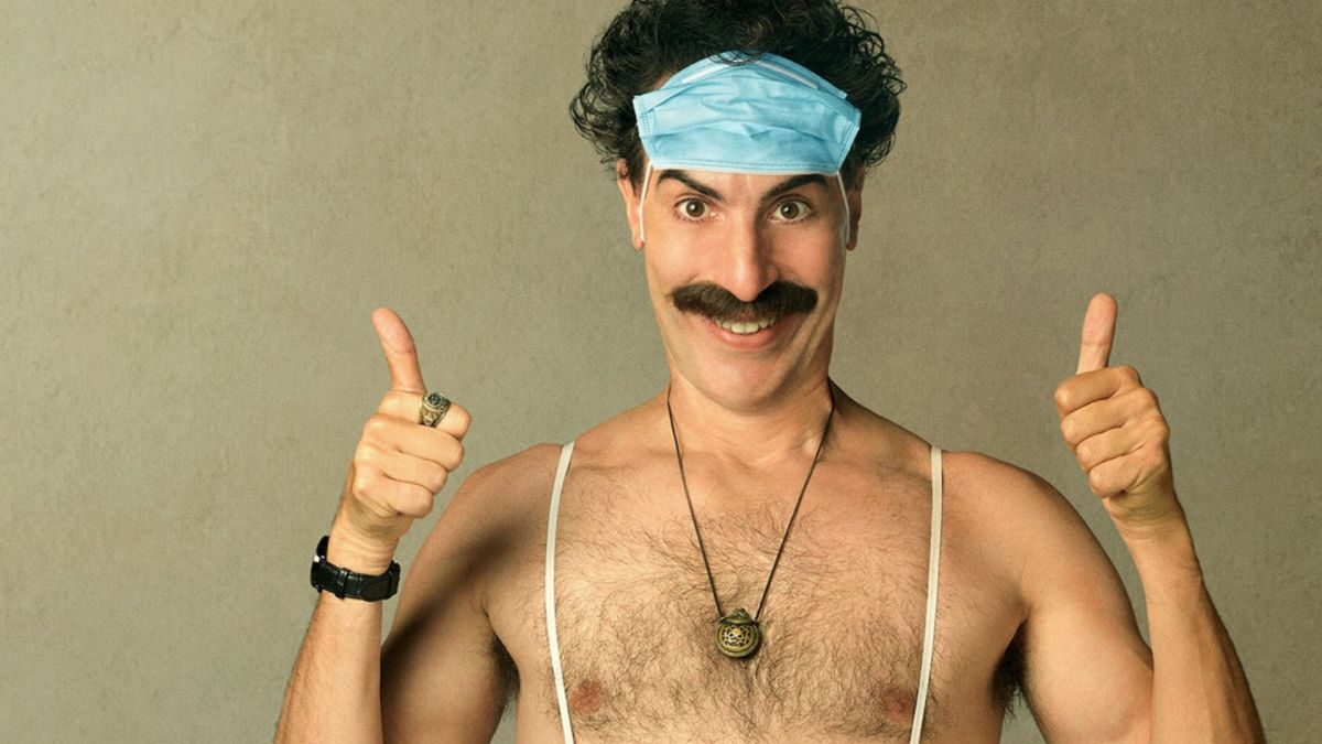 Infamous Borat 2 scene was nearly ruined by a phone running out of battery